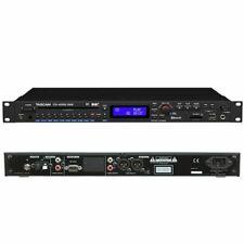 TASCAM CD-400U Pro Rackmount CD/SD/USB/Bluetooth/AM-FM Player CD400U