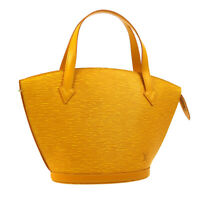 LOUIS VUITTON SAINT JACQUES HAND TOTE BAG YELLOW EPI LEATHER M52279 AK45458