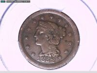1852 Large Cent PCGS VF 25 27870929 Video