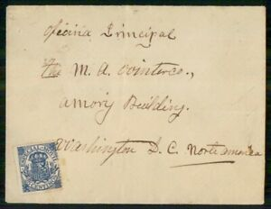 Mayfairstamps SPAIN COMMERCIAL 1907 COVER ZAMORA TO DC USA wwi96581