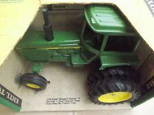 John Deere Sound Guard JD tractor w/ duals VINTAGE Ertl Toy 1/16 NIB YG BOX #542