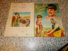 ALBUM MARCELLINO PANE E VINO LAMPO 1956 Q.COMPLETO(-2 FIG) D/BUONO TIPO PANINI