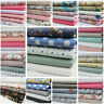100 % Cotton Fabrics FQ Bundles Vintage Chic Floral Craft Remnants Offcuts