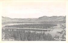 Lindisfarne-Big Arm MT Melita Island on Flathead Lake~Meiers of Polson RPPC 1950