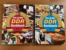 DDR Kochbuch Backbuch