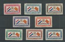 Curacao   LP18-25 Bernhardfonds MH/ongebr CV 320+ € lees