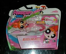 Powerpuff girls Blossom Belle Push and GO! Speed Line Vehicle NEW Spin Master