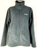 Columbia Women's Large Black Full Zip Fleece Falls Jacket New + Tags retails $55