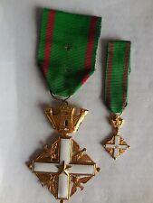 croce da cavaliere ordine al merito della repubblica italiana + mignon