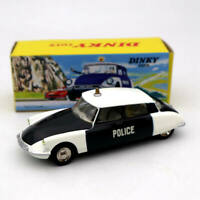 Atlas 1:43 Dinky Toys 501 Citroen DS 19 Police Car Models Diecast Collection