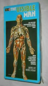 1977 Revell THE VISIBLE MAN Dimensional Model Kit of Human Body Pre-owned Unused