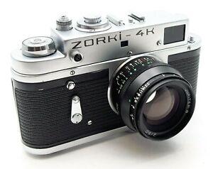 ZORKI 4K RANGEFINDER CAMERA with JUPITER 8 50mm f2 LENS - UK DEALER