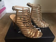 Womens 7.5 Gold Pumps Christian Siriano Dress Shoes