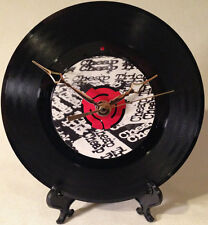 "Recycled CHEAP TRICK 7"" Record / The Flame / Record Clock"