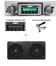 1967-68 Chevy Impala Bel Air AM FM Stereo Radio + Dash Speaker w/ AC  630 II