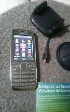 Nokia  E52 - Metal Grey (Ohne Simlock)  !!! siehe Fotos !!