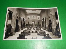 Cartolina Milano - Nuova Stazione Centrale - Sala d' Attesa I^ e II^ Classe 1935