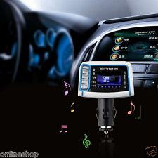 1.44 inch LCD Wireless FM Transmitter Car MP3 Player TF Card USB Drive Remote