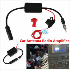 Auto Car Antenna Radio Signal AMP Amplifier Booster Strengthen ANT-208 25db 12V