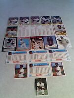 Jim Rice:  Lot of 140+ cards.....50 DIFFERENT / Baseball