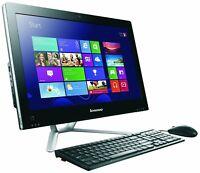 """Lenovo C340 20"""" 4GB RAM, 1TB HDD, DVDRW - Black (744115)"""
