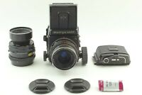 【N MINT / 2Lens + Big Knob】 Mamiya RB67 Pro S Sekor C 90mm 180mm Lens from JAPAN