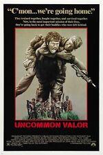 gene hackman UNCOMMON VALOR movie POSTER 1983 war RESCUE guns ACTION 24X36