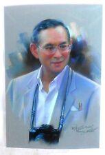 Bild picture König King Bhumibol Adulyadej RAMA IX Thailand 15x10 cm  (s28