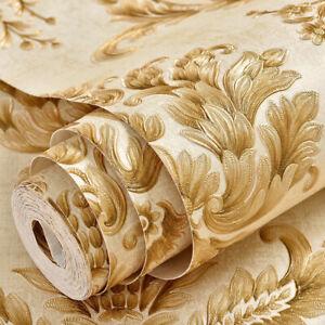 Vintage Flower Self Adhesive Wallpaper Peel - Stick Livingroom Contact Paper 3M