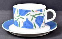 ARABIA OF FINLAND Moreeni Balladi Vintage Tea Coffee Cup & Saucer