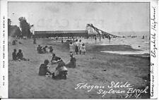 Tobogan [Toboggan] Slide Slyvan Beach NY Vintage postcard postally used in 1906
