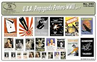 Royal Model 1:35 U.S.A. Propaganda Posters-WWII (Part 2??) #282