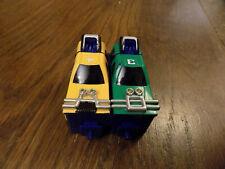 Megazord Power Rangers Turbo Robot Micro car part Playset Figure Bandai Vtg 1997