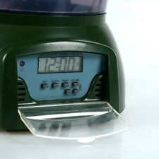 BNIB Automatic GROSS GREEN Pond Digital Fish Food Feeder with Timer -For Turtles