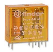 Finder 24  volt 16amp AC Relay SPCO popular in Boiler Controls