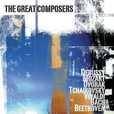 The Great Composers (Brand New Double Classical Compilation CD) A