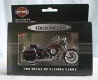 Harley Davidson Collectible Tin & Playing Cards 1988