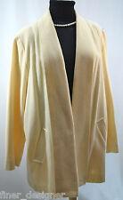 Elegant Fashions VTG winter white wool Jacket Coat shrug blazer Women's SZ XL 1X