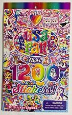 Lisa Frank over 1200 Stickers Sticker Book