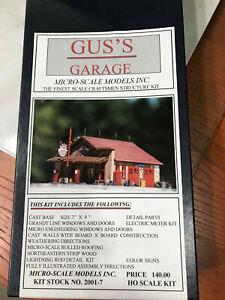 Micro Scale Models Gus's Garage Craftsmen Kit NEW