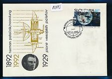 02113) Raketen space Weltraum, sp cover FDC 1992