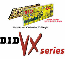 ¿ Vx Oro Heavy Duty X-ring Cadena - 520 Pitch 120 enlace 520vxgb120