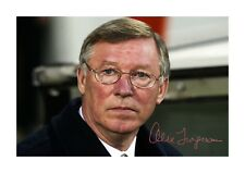 More details for sir alex ferguson 1 a4 signed photograph picture poster choice of frame