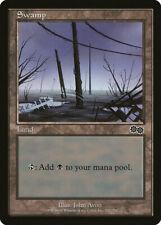 Magic MTG Tradingcard Urza's Saga 1998 Swamp 342/350