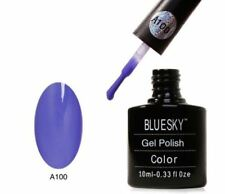 BLUESKY UV LED SOAK OFF SMALTO PER UNGHIE A100 Blu Ahoy 10ml