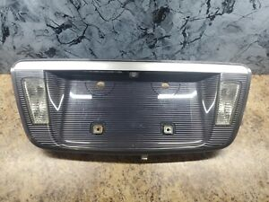 07-08 Acura TL TYPE Genuine License Plate with Backup Light Camera OEM