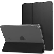 For New iPad 9.7 6th Generation 2018 / 5th 2017 PU Leather Case Back Cover