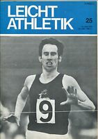 Leichtathletik Nr. 25/1972