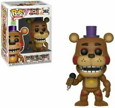 Vinilo Figura Rockstar FUNKO POP! Freddy Five Nights At Freddy' #365 Con Caja