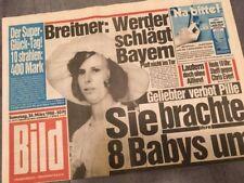 Bildzeitung BILD 26.03.1988 * Das besondere Geschenk zum 30. 31. 32. Geburtstag